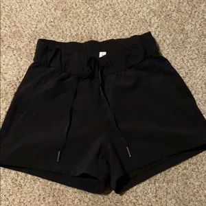 On the fly lululemon shorts